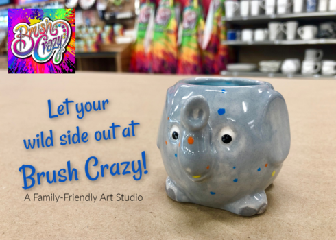 Let Your Wild Side Out at Brush Crazy!