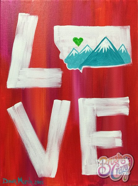 LOVE Montana - Guided Open Paint