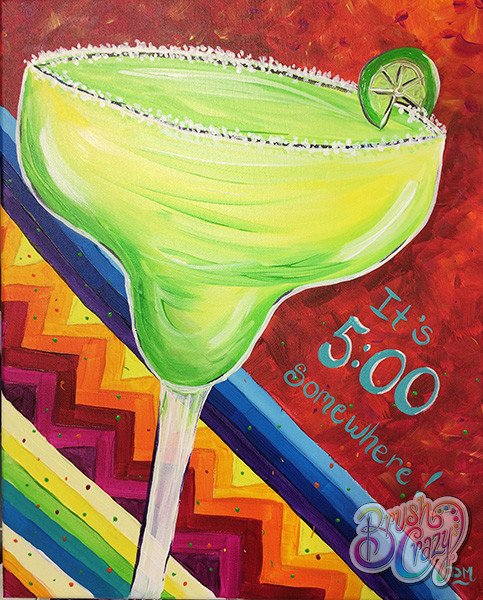 Margarita Fiesta It's 5 O'Clock Somewhere