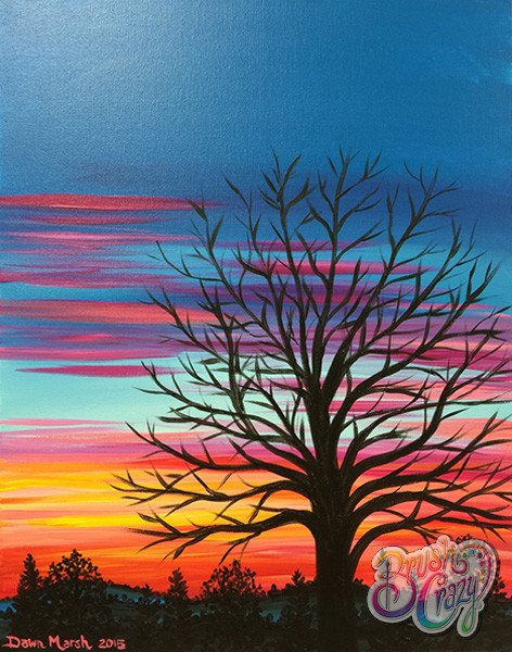 Tree Hill Country Tequila Sunrise Fall