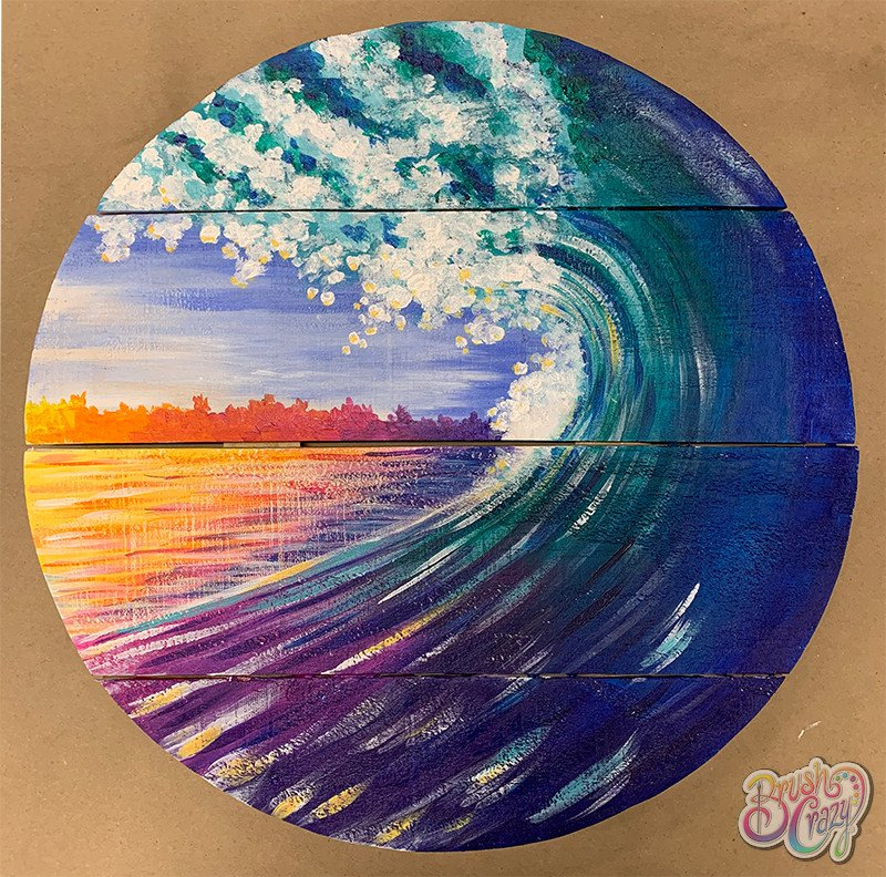 Wave in Circle