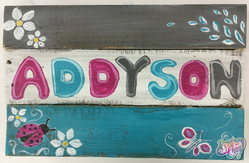 Personalized Name Sign for Kids!