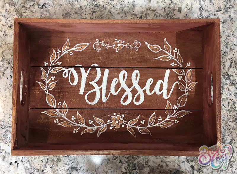 Blessed Wreath - Guided Open Paint