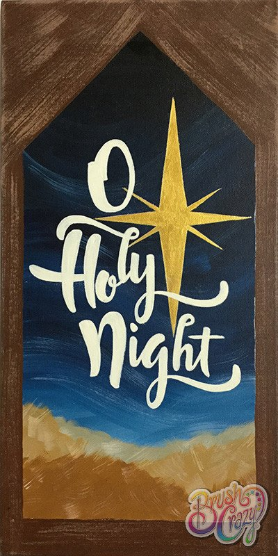 Oh Holy Night with Star