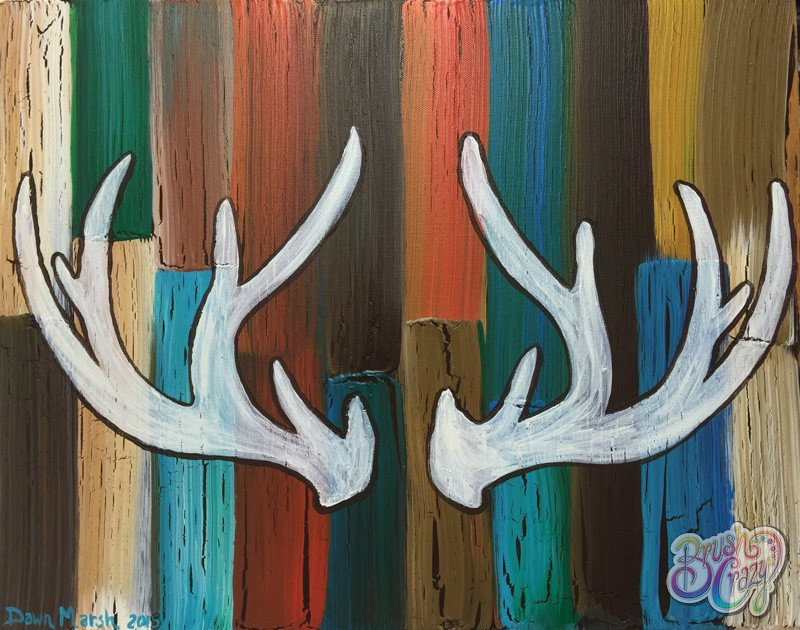 Antlers on Crackle