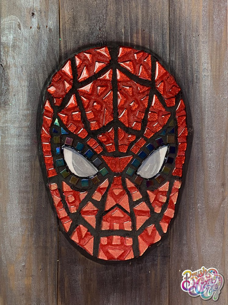 Spiderman Mosaic