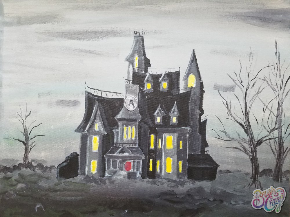 Addams Family Mansion - Guided Open Paint
