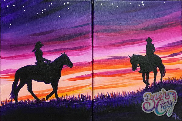 Cowboy Rendezvous - Guided Open Paint