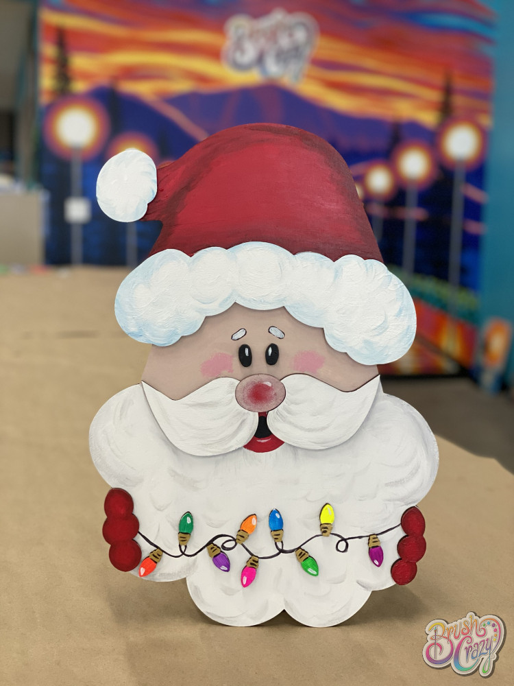 3D Santa with Lights