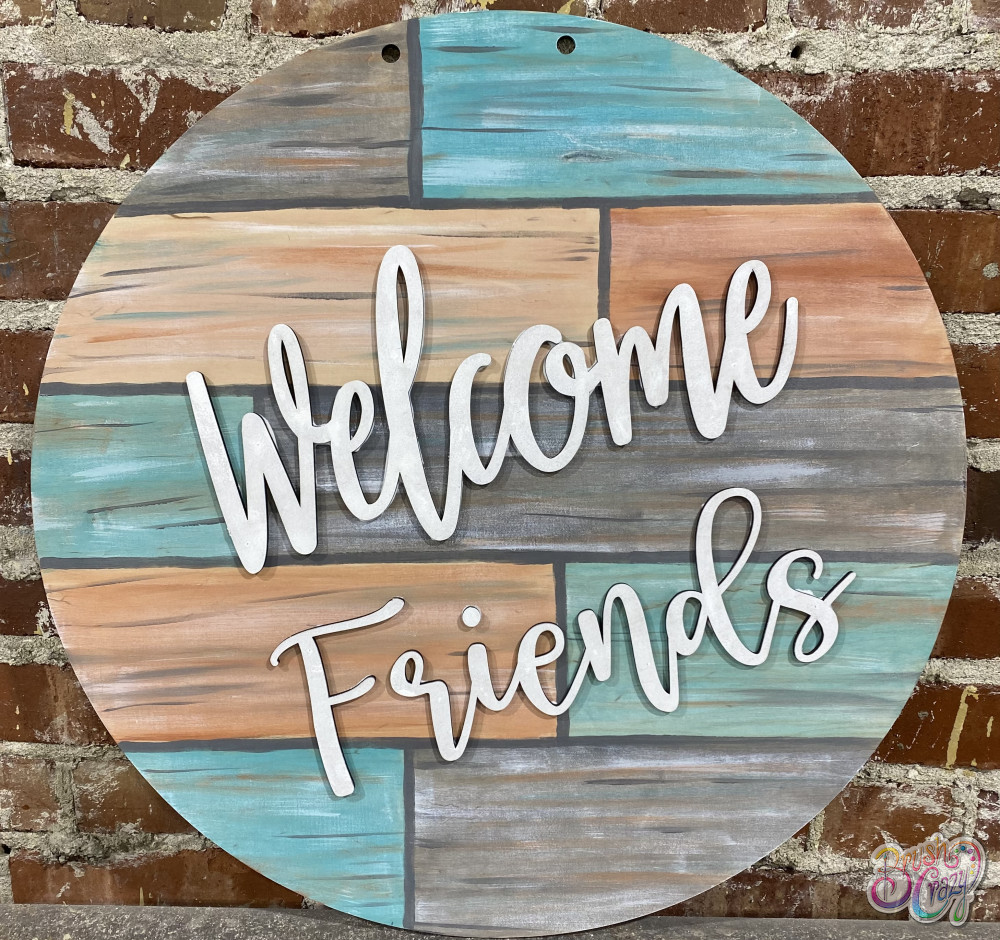 3D Welcome Friends