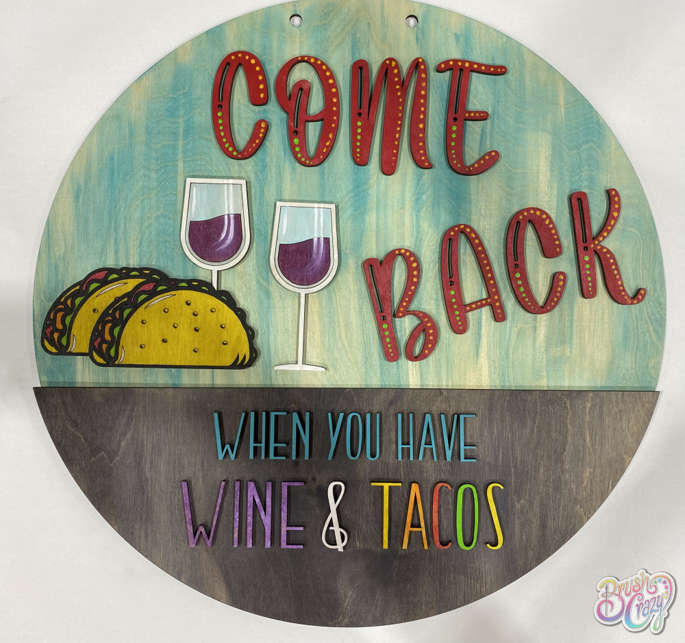 3D come back when you have Wine & Tacos
