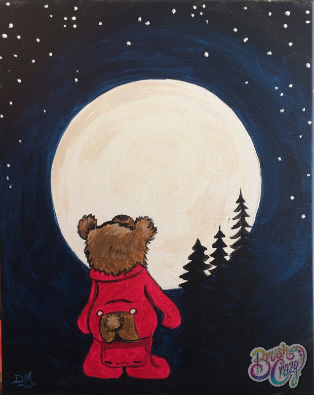 Bear Full Moon