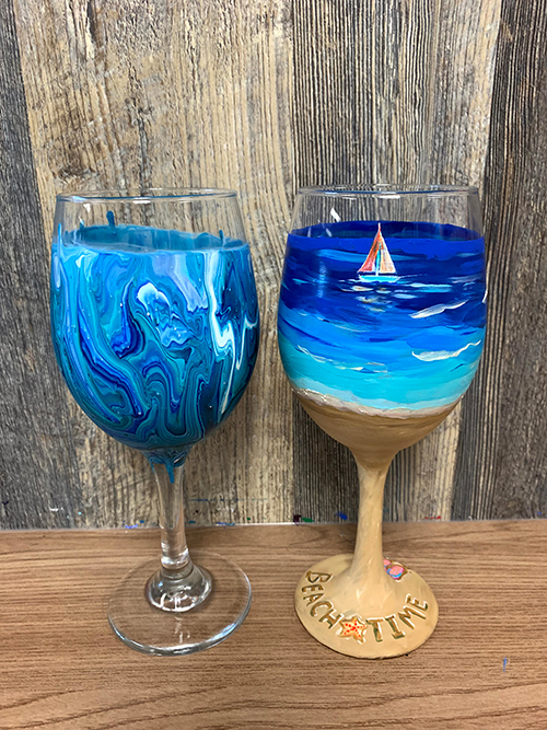 Glass Painting for Many Occasions