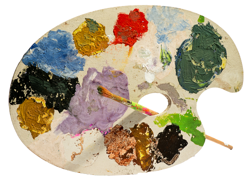 Painting Class Painting Palette