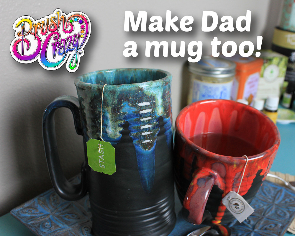 Father's Day ceramic