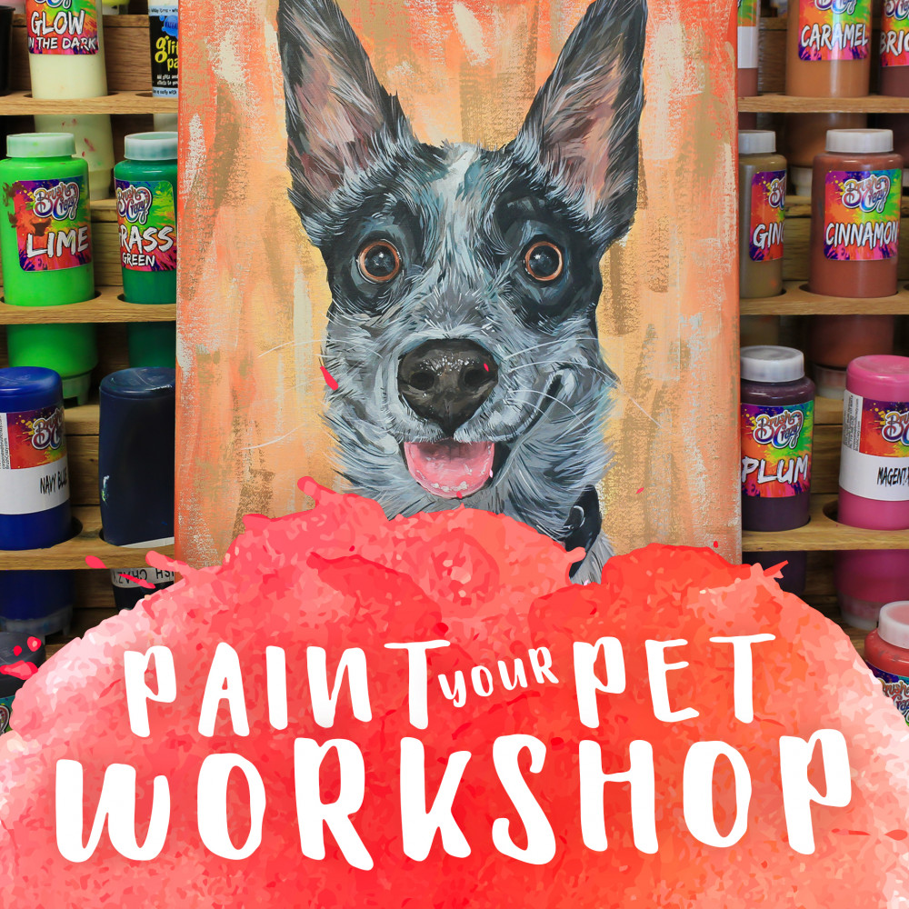 Paint Your Pet for National Pet Memorial Day!