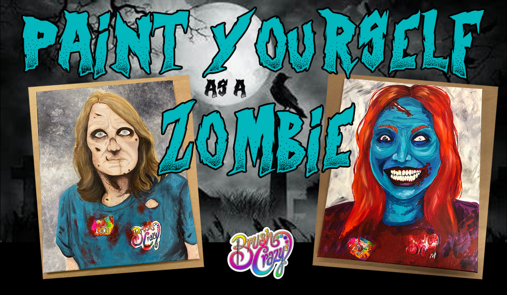 Paint Yourself as a ZOMBIE