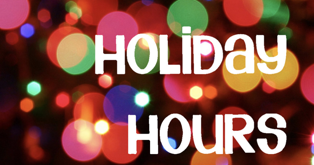 Special Hours for Tonight!