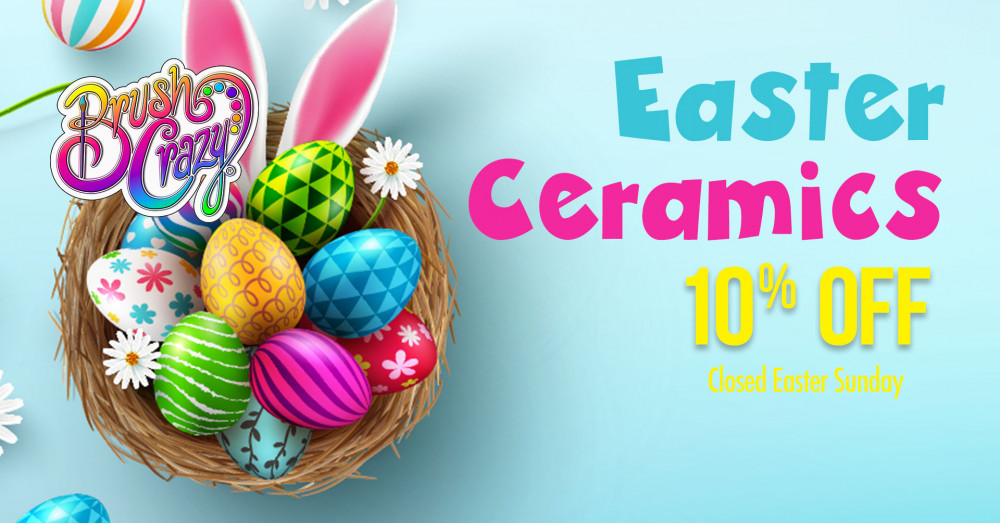 Easter Ceramics 10% Off